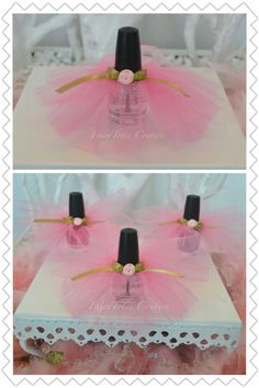 Nail Polish Tutu Favors