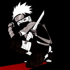 Hatake Kakashi with Sharingan
