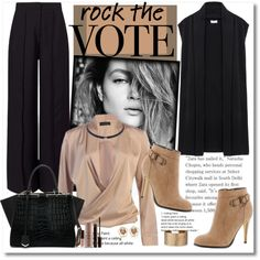 Rock the Vote in Style... by cindy88 on Polyvore featuring DKNY, Miss Selfridge, Michael Antonio, Fendi, Panacea, Laura Mercier and rockthevote