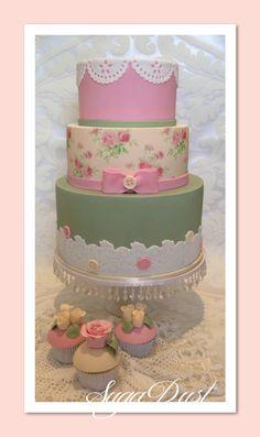 Shabby Cake & Cupcakes