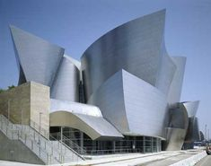 Frank Gehry- I love finding his buildings when we travel. The acoustics in this concert hall are amazing!
