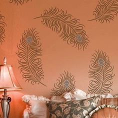 Try wall stencils instead of expensive wallpaper! Cutting Edge Stencils offers the best stencils for DIY décor - stencils expertly designed by professional decorative painters Janna Makaeva and Greg Swisher who have over 20 years of painting experience. We are a reputable stencil company that stands