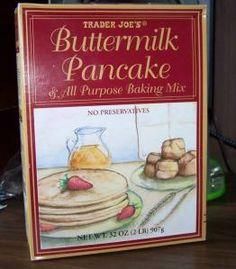 TJ's Buttermilk Pancake Mix