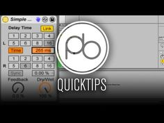Ableton Live Sound Design Quick Tip: Using Simple Delay for Pitch Effects - YouTube