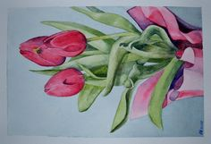March 2013 Watercolor Challenge - Tulips - Page 8 - WetCanvas