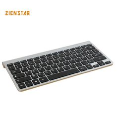 French Version slim 2.4G Wireless Keyboard for MACBOOK,LAPTOP,TV BOX Computer PC ,android tablet with USB receiver