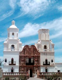 San Xavier Mission - Tucson, Arizona. One of my fav places to visit when I go home.