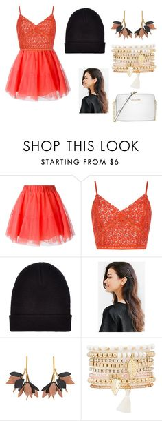 """""""party"""" by lia-hedges on Polyvore featuring P.A.R.O.S.H., New Look, Urban Outfitters, Marni, Charlotte Russe and Michael Kors"""