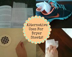 Quick Tip: Alternative Uses For Dryer Sheets - Southern Savers