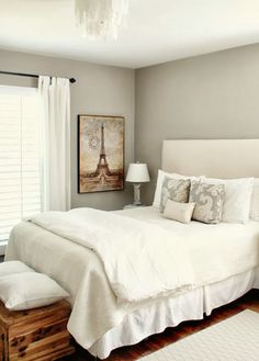 Worldly Gray - Favorite Paint Colors - looks like a very light taupe.