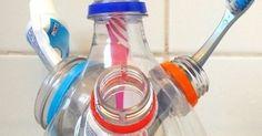 Una forma fácil de reciclar las botellas plásticas . ------------------------------------------ An easy way to recycle plastic bottles. | Pinterest | Recycle P…