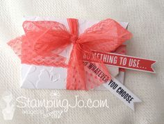 Gift Card Envelope &