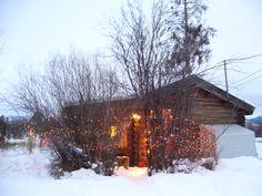 cabin christmas   ChristmasCabin