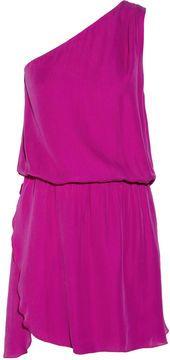 http://www.shopstyle.com: Mason by Michelle Mason One-shoulder washed-silk dress