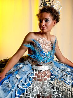 These are some of the beautiful paper fashion creations from the Art Directors Club Denver Paper Fashion show 2011. If you are lacking inspiration today, these beautiful paper dresses will probably…