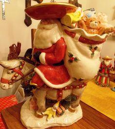 Fitz & Floyd Mexican Santa cookie jar