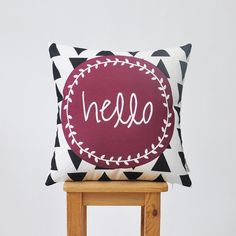 Hey, I found this really awesome Etsy listing at https://www.etsy.com/listing/228487190/geometric-decorative-pillow-modern