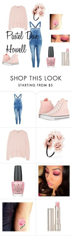 Pastel Dan Howell by temmie888 on Polyvore featuring moda, Acne Studios, Boohoo, Converse, Forever 21, By Terry and OPI
