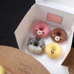 Animal donuts by Sydney desserts , Australia (@bakedbyandres)