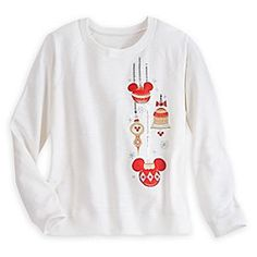 Disney Mickey Mouse Holiday Ornament Pullover for Women | Disney StoreMickey Mouse Holiday Ornament Pullover for Women - Bring the holiday cheer while wearing our all-cotton Mickey Mouse Holiday Ornament Pullover featuring shining appliqu�s with embroidered details, sequins and gems. Perfect for celebrating with Disney style!