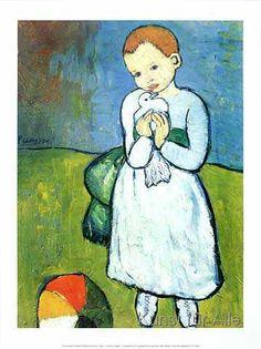 Pablo Picasso - Kind mit Taube                                                                                                                                                     Mehr