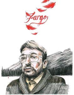 Fargo - Lorne Malvo by Paula Bonet