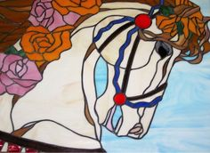 Commercial  design used for the year of the horse, the year my grand daughter was born.