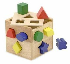 Shape Sorting Cube Toddler Toy