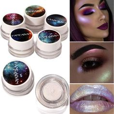 Fairytale cosmic Makeup - this is beautiful #eyeshadow