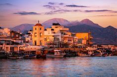 Sunset at Ierapetra, Crete, Greece (G)