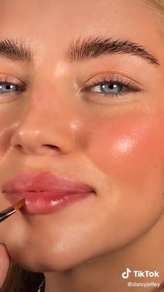 Natural Everyday Makeup, Natural Makeup, Natural Eyes, Natural School Makeup, Natural Pink Lips, Natural Summer Makeup, Natural Blush, Natural Contour, Natural Eyebrows