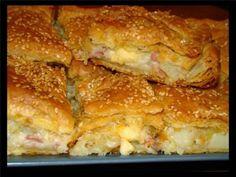 Ευκολότατη πίτα με πατάτα, μπέικον και τυρί - Media