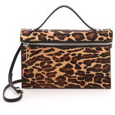 L.A.M.B. Dolley Iii Shoulder Bag - Leopard