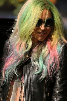 Ke$ha...love her to death.. i just love her and how she doesn't care what people say, she just does what makes her happy!<3 #Animal4Life