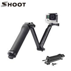 Schieten 3 manier waterdichte monopod selfie grip statief voor gopro hero 5 4 sessie sj4000 xiaomi yi 4 k camera acessorios gopro