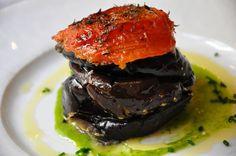 Millefeuille tiède aux aubergines grillées, façon « Riviera » - La Bastide Odéon 75006 Paris #restaurant #paris #labastideodeon #gastronomie #foodie