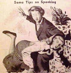 In the early years of marriage, it's best to have mother-in-law stay over and assume spanking duties when Hubby's away on business trips. Once the wife reaches her 30s, she can be trusted to spend a day or two on her own without slacking on housework or cheating on her diet.