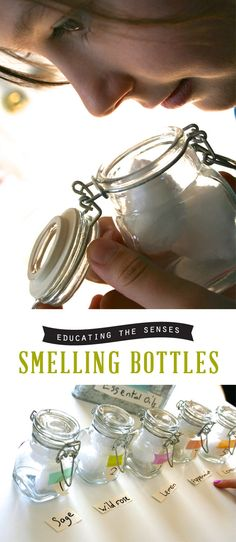 Educating the Senses: Smelling Bottles...