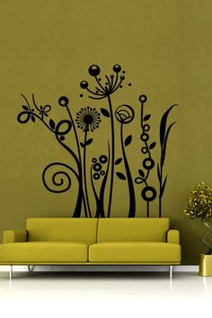 Sprouting Nature Wall Decals