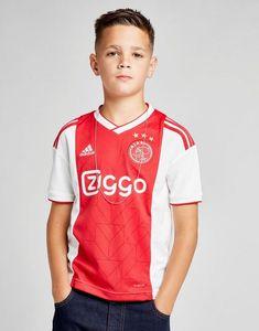 adidas Ajax Home Shirt Junior - Shop online for adidas Ajax Home Shirt Junior with JD Sports, the UK's leading sports fashion retailer. Buy Gift Cards, Soccer Boys, Jd Sports, Sport Fashion, Adidas, Jackets, Shirts, Shopping, Google