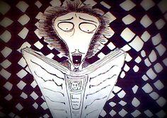 A Tim Burton sketch