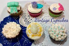 Vintage Cupcakes (Recipe in the blog nuncaesdemasiadodulce.blogspot.com.es)