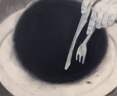 nonmoral issues, 62 X 51 cm, Muk acrylic pencil on Korean paper, 2008  #art #artwork #painting #drawing