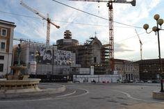 Per Cantieri Aperti abbiamo fatto visita ai cinque più interessanti del centro storico del capoluogo abruzzese