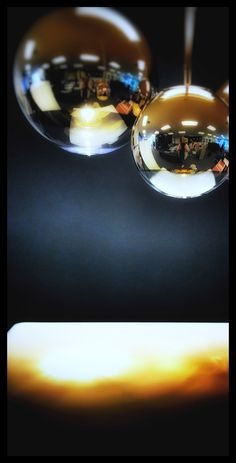 Detail - Tom Dixon pendant - Mirror Ball - lagre scale jewellery