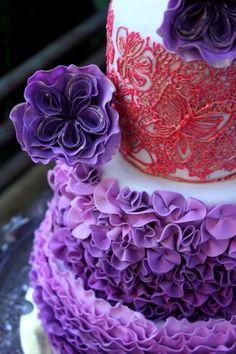 <3 Gumpaste Cabbage Rose - Tutorial - Cake Central