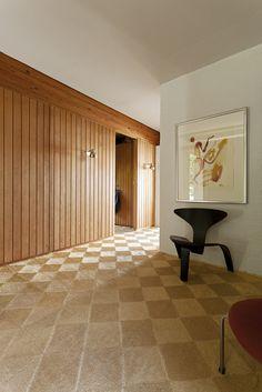 Kjaerholm house, designed by Hanne Kjærholm, furnished by her husband Poul... just perfect.