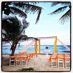 Tell me this isn't the most beautiful wedding location! #dreamspuertoaventuras #destinationweddings Photo: cttravel