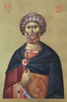 06F_B Byzantine Icons, Byzantine Art, Raphael Angel, Archangel Raphael, Religious Icons, Religious Art, Orthodox Icons, Angel Art, I Icon