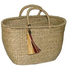 """Search Results for """"target seagrass tote basket nate berkus – domino Nate Berkus, Beach Bungalows, Wooden Pallets, Straw Bag, House Design, Bags, Collection, Baskets, Home Decor"""